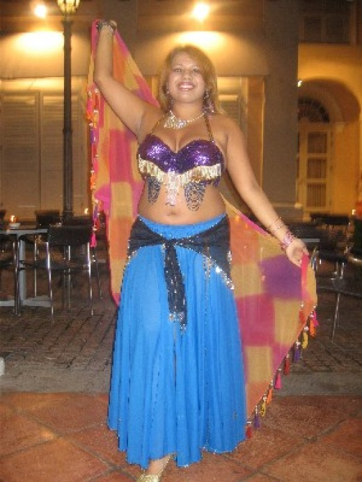 Plus Size fitness - Belly Dancing