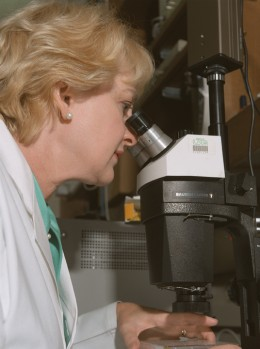 A diabetes researcher. Image from NASA.