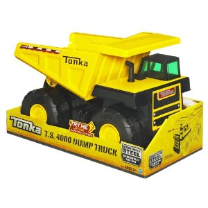 Similar to the Tonka Classic Dump Truck, The TS4000 is rugged toy.