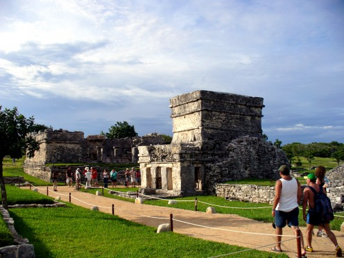 It was so special to get to walk along the paths at the Mayan Ruins in Tulum Mexico, of the Yucatan Peninsula.