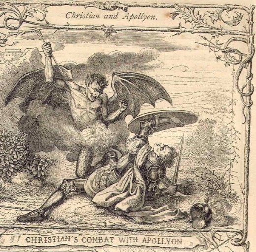 Illustration from The Pilgrim's Progress, 1850 edition