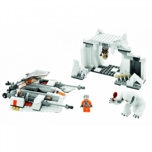 LEGO Star Wars: 8089 Hoth Wampa Cave set