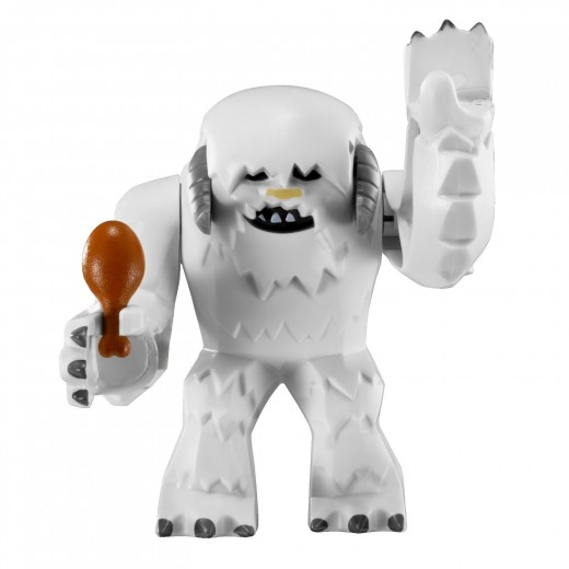 LEGO Star Wars: 8089 Hoth Wampa Cave - Wampa, holding a drumstick :D