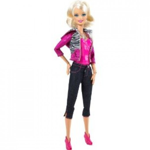 Barbie Video Girl Doll can be posed, she doubles as a pretty good tripod.