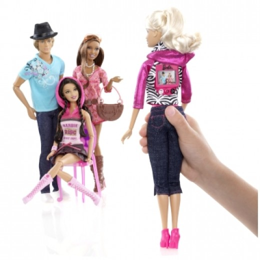 Record Barbie and Ken and Friends in a Fashion Show