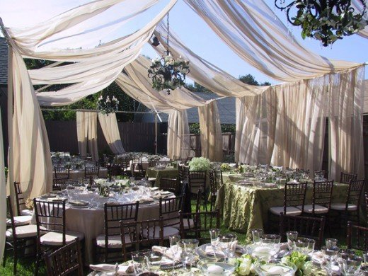 Decoration Ideas for Outdoor Weddings
