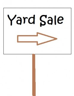 Easy Yard Sale Basics