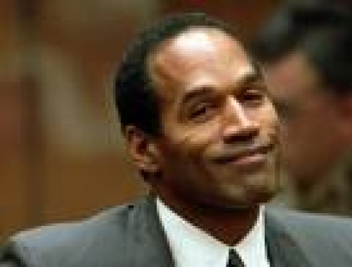 Football star, actor O.J. Simpson