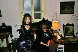 Me and friend at Halloween party
