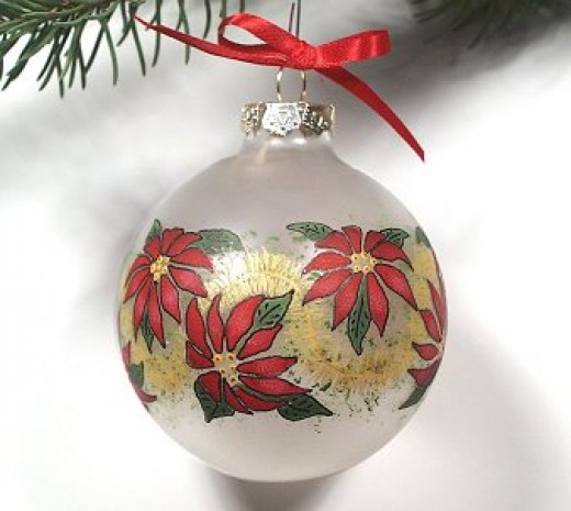Exquisite, hand-painted ornament from tole-expressions.com
