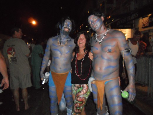Fantasy Fest Avatar Paint