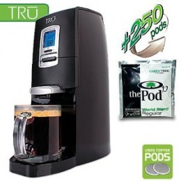 TRU Digital Single Serve Coffee Brewer