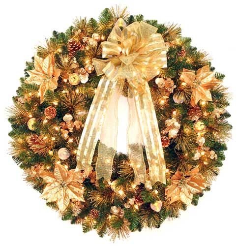 Gold beauty from christmastrees.biz