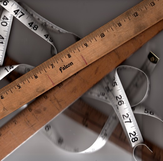 Measuring  a teacher's authority is easier than unrolling a tape.