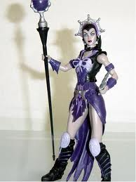 Evil-Lyn Figure doll - reminiscent of Jill Barad