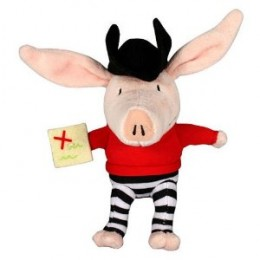 Olivia The Piglet Pirate Soft Toy