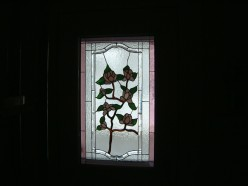 Stained Glass Looking Through My Window