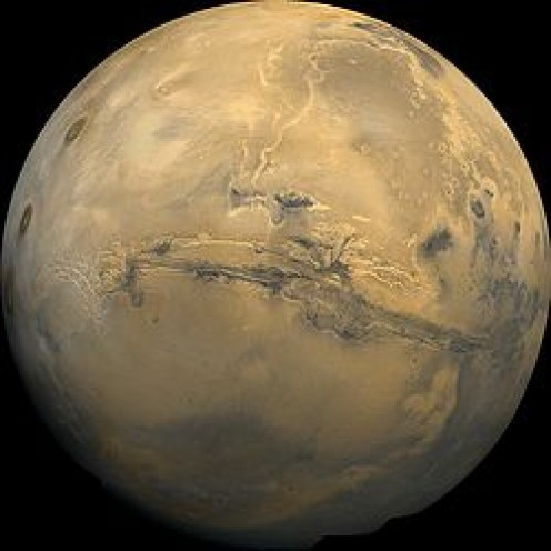 Valles Marineris (center)