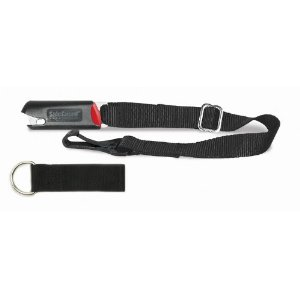 PetBuckle Kwik-Connect Tether for the Universal Travel Harness Pet Seat Belt, 1-Inch by 20-Inch