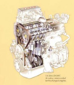 The Capri Standard Turbo Engine