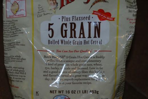 Bob's 5-grain cereal