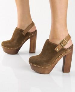 Trendy High Heel Platform Clog