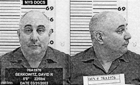 David Richard Berkowitz aka Son Of Sam in 2003