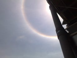 South Africa's Sun Ring Phenomena.
