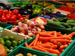 Eat fresh fruits and vegetables!
