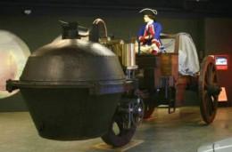 Replica Of 1769 Steam Powered Vehicle
