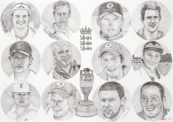The Ashes squad of 2005