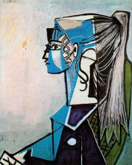 "Picasso's ""Girl With a Ponytail"""