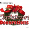 Traditional  Outdoor Christmas Decorations Styles and  Vintage Christmas Tree Decorations