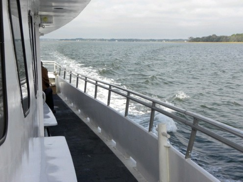 Picture taken from ferry