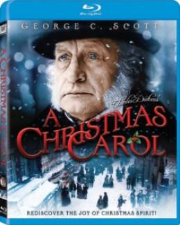 George C Scott in A Christmas Carol