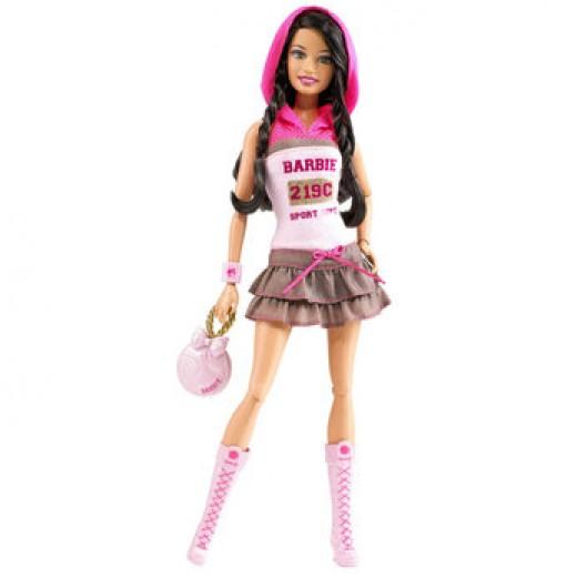 Barbie Swappin Style Fashionista Sporty