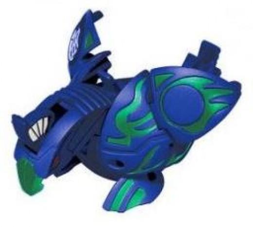 Blue Aquos Deka Jumping Skyress