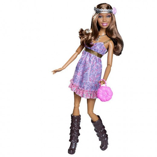 Barbie Fashionistas Swappin' Styles Doll- Artsy