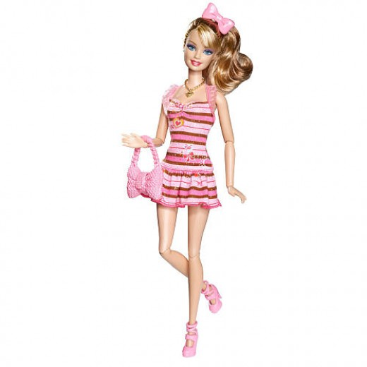 Barbie Fashionistas Swappin' Styles Doll - Sweetie