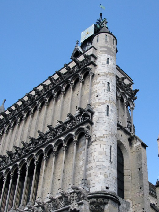 Notre Dame Cathedral, Dijon France
