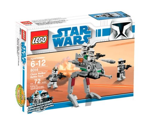 LEGO Star Wars 8014 Clone Walker Battle Pack box