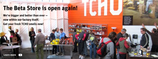 The TCHO factory and store on Pier 17 in San Francisco is a fun destination.