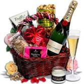 The Ultimate Blind Date Valentines Gift Basket - Valentines Gifts for Him