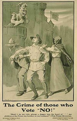During conscription campaigns, those who were opposed were often branded traitors and criminals, risking imprisonment and death by firing squad.