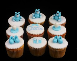 How to Make Sugar Paste Christening Cake Decorations