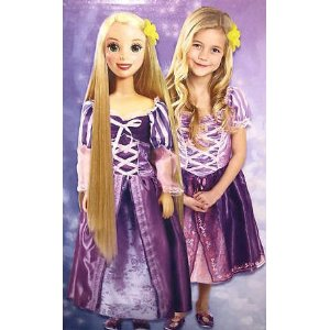 Tangled Rapunzel Fairytale Friend My Size Doll
