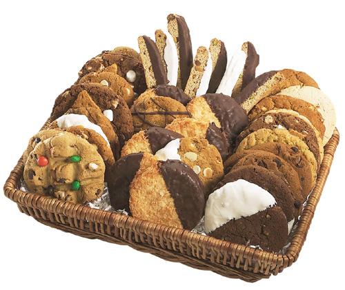Gourmet Cookie Basket from creativetouchco.com