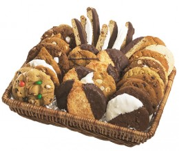 Gourmet Cookie Basket from creativetouchco.com