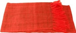 Silk Scarf handmade with silk from Madagascar 18.5 wide / 80 long Online price:  £27.00+ £3 shipping per order