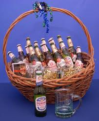 Valentines Gifts for Him - The Beer basket
